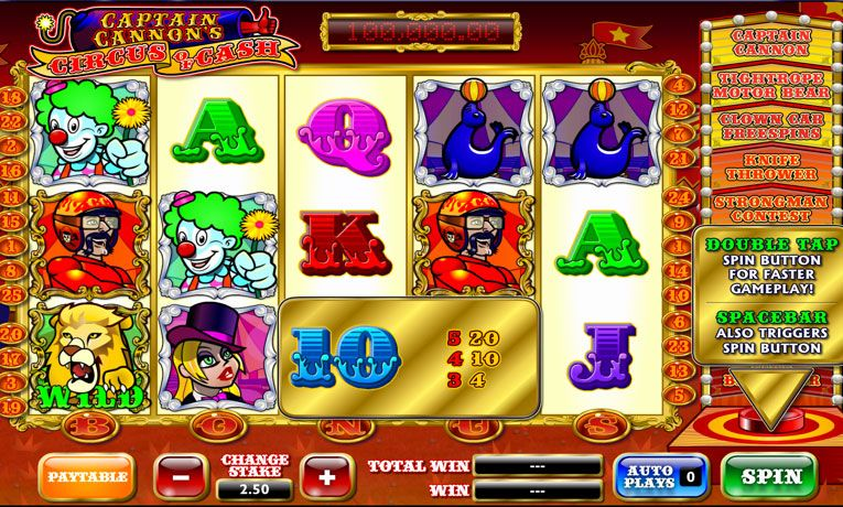 Kierry Circus Slotit Review and Play Casinopeliä Täällä